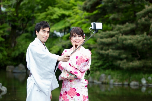 Furisode Rental for ladys(Long sleeved kimono)+Kimono&Hakama Rental for Male