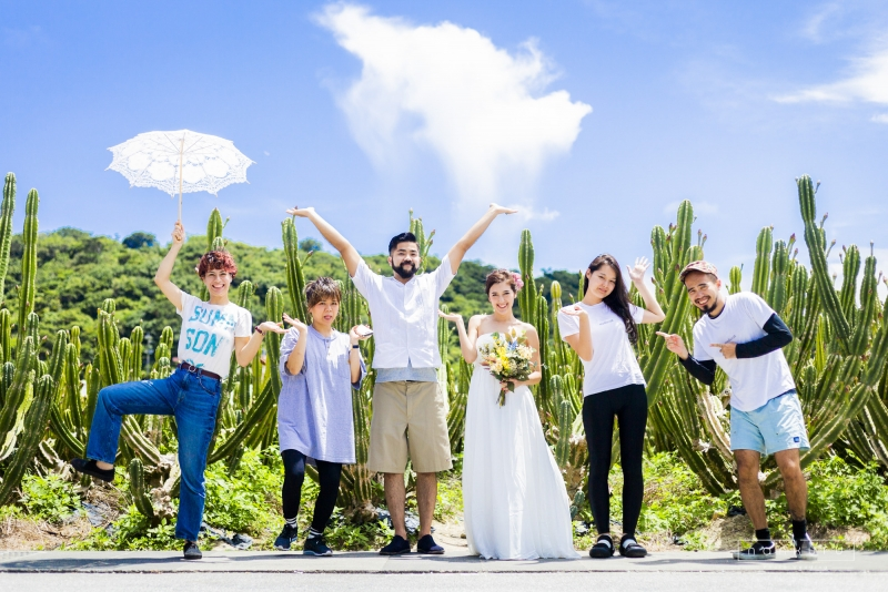 nankuru(なんくる)photo wedding