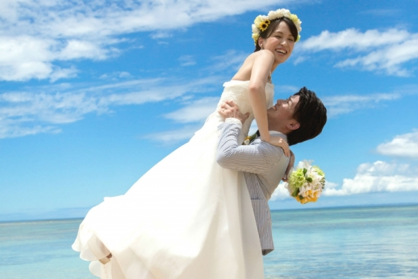 WEB-only Beach Photo Basic plan - Full Pack(Okinawa Main Island)