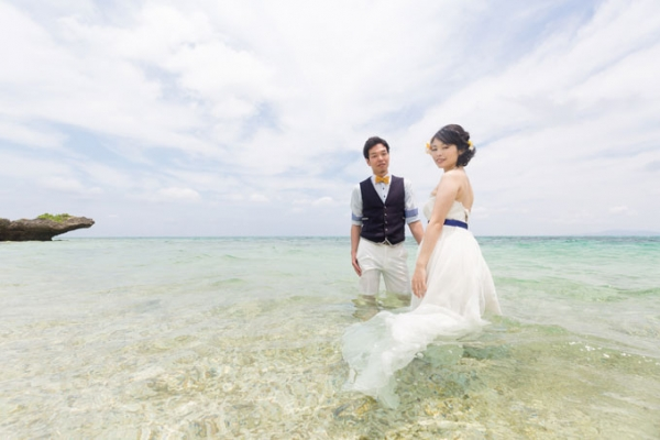 "WEB-only ""Trash The Dress""Simple Plan (Ishigakijima Island)"