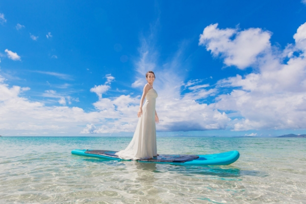 "Beach Photo ""Trash The Dress"" Basic Plan (Okinawa Main Island)"