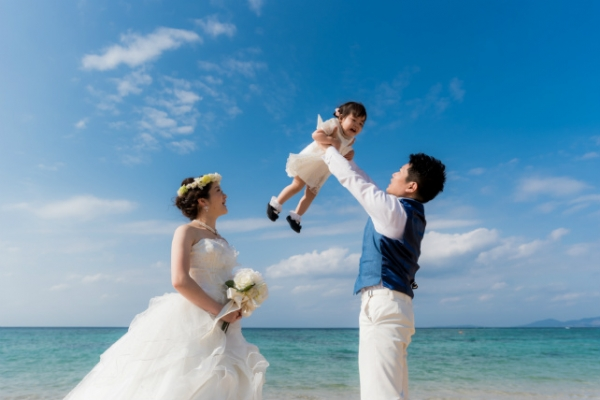 【NEW】Location Photo Wedding Family Plan (Ishigakijima)
