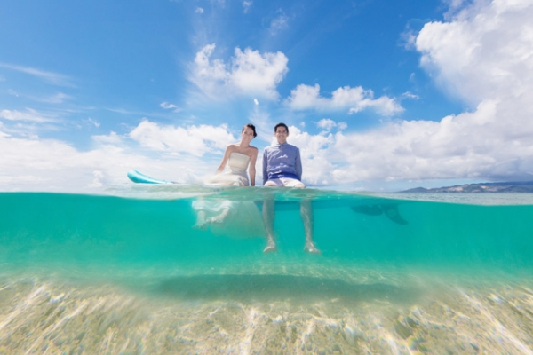 "WEB-only Beach Photo Plan ""Trash The Dress"" Simple Plan (Okinawa Main Island)"