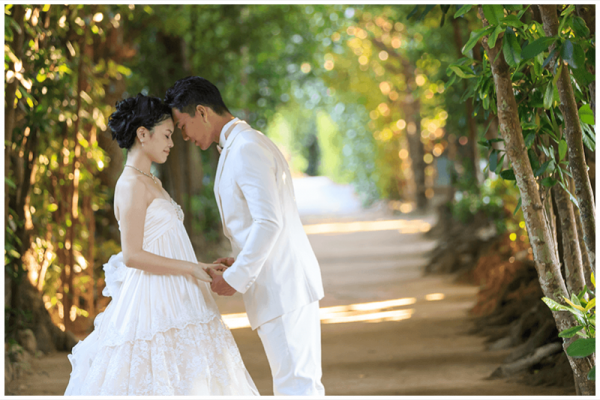DISCOVERY OKINAWA Premium Wedding Photo(北部コース 2ロケ 200カット)